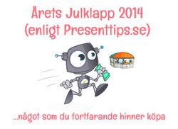 Årets Julklapp 2014 enligt Presenttips.se
