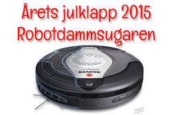 Årets Julklapp 2015 är robotdammsugaren