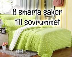 Tips på 8 smarta saker till sovrummet du inte kan vara utan