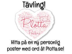 Ny tävling - hitta på en ny personlig poster åt Plotta.se