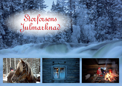 Foto från Storforsens Julmarknad