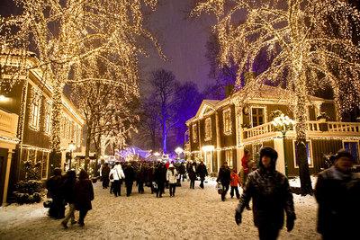 Foto från Jul på Liseberg