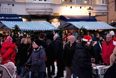 Foto från Skyltsöndag och Julmarknad i Kristianstad