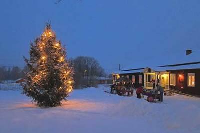 Foto från Julmarknad på Ludvika Gammelgård
