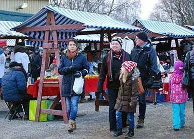 Foto från Julmarknad på Forslunda