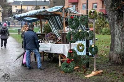 Foto från Torshälla Julmarknad