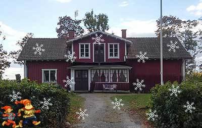 Foto från Julmarknad i Äppellunden