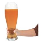 Gigantiskt Ölglas