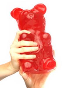 gigantisk gummibjörn