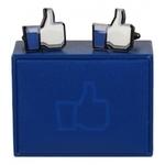 Facebook-manschettknappar