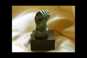 Avgjutning i brons