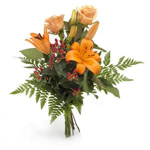 Krya på dig blomma