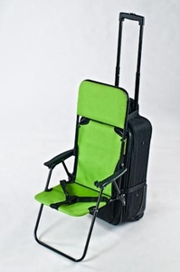 Kombinerad väska och stol