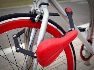 Dubbelverkande cykellås