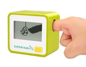 Häftigt finger-TV-spel