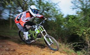 Cykla downhill för två