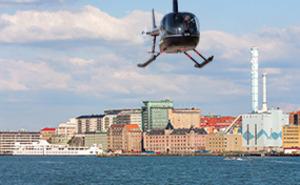 Helikoptertur - Göteborg