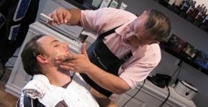 Besök hos barberaren