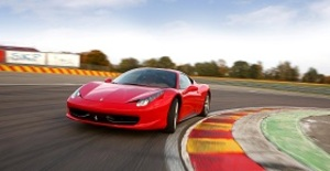 Ferrari eller Lamborghini - Bankörning