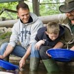 Guldvaskning för familj