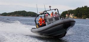 Ribbåt i Stockholms Skärgård