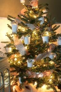 adventskalender i julgranen