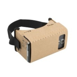 google cardboard set kartong virtual reality