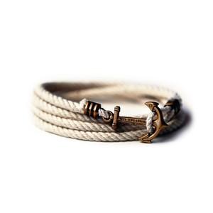 armband för man havet ankare